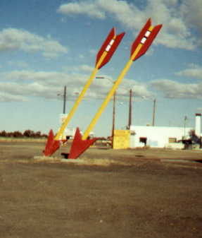 giant arrows