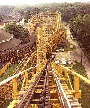 idora park wildcat roller coaster