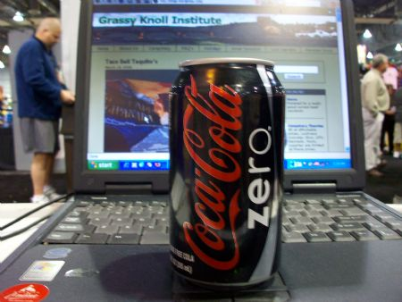 coke zero diet pop
